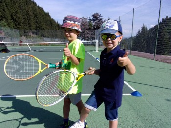 Mini tennis course Méribel - 4/5 y/o