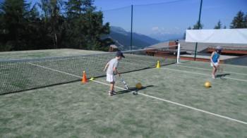 Mini tennis course Les Arcs - 4/5 y/o