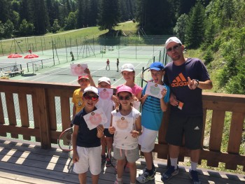 Tennis + Multi-Activités Méribel (6-16 ans)