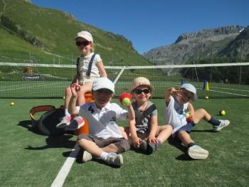 Mini tennis course Val d'Isère - 4/5 y/o